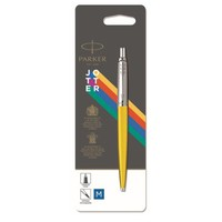 Фото Шариковая ручка Parker JOTTER 17 Plastic Yellow CT BP блистер 15 336