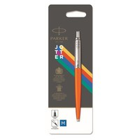 Фото Шариковая ручка Parker JOTTER 17 Plastic Orange CT BP блистер 15 436
