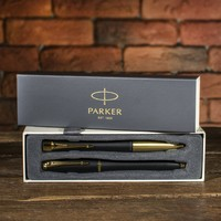 Фото Набор Parker Urban Muted Black GT FP+BP в подар.уп. DUOSETS 20 292CHb19